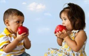 Аллергия на яблоки у грудничка